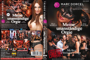 Orgia Marc Dorcel My Real Swingers Orgy DVD 433395