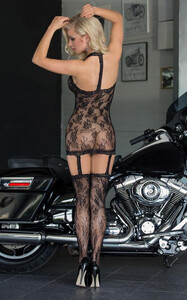 Bodystocking na szyję SoftLine Crazy S-L 729319