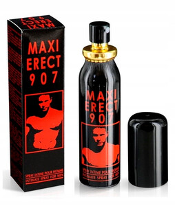 MAXI ERECT 907 Spray erekcyjny do penisa 25 ml RUF 30912