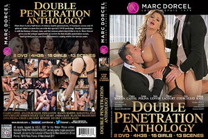 Podwójna Penetracja Marc Dorcel ANTHOLOGY: DOUBLE PENETRATION 2x DVD 433548