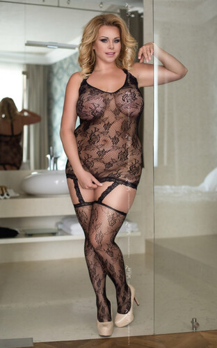 Kostium bodystocking SoftLine CRAZY XL-3XL 6269